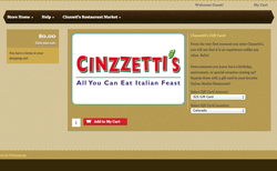 Cinzzetti's Gift Card Store